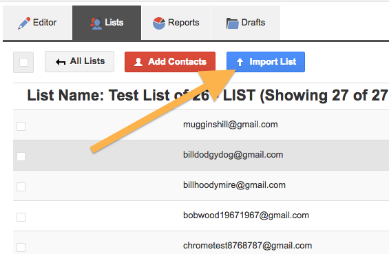 Import Upload a Mailing List or Emails – FlashIssue